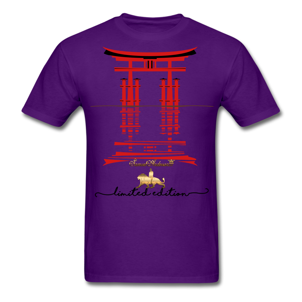 Connected to the Universe  Men's T-Shirt - purple