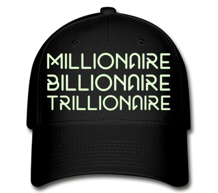 Wealthy Cap - black