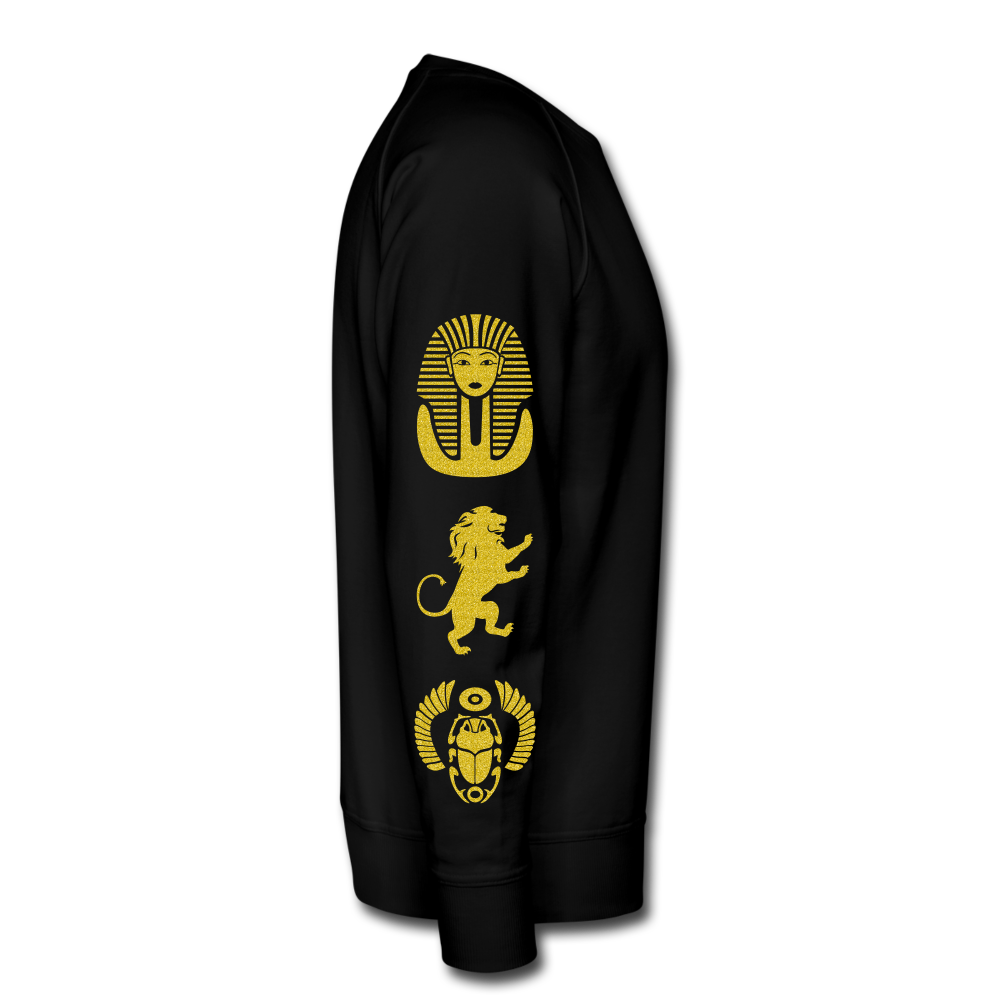 Africa is The Spiritual Portal of The Earth Men's Premium Sweatshirt - black