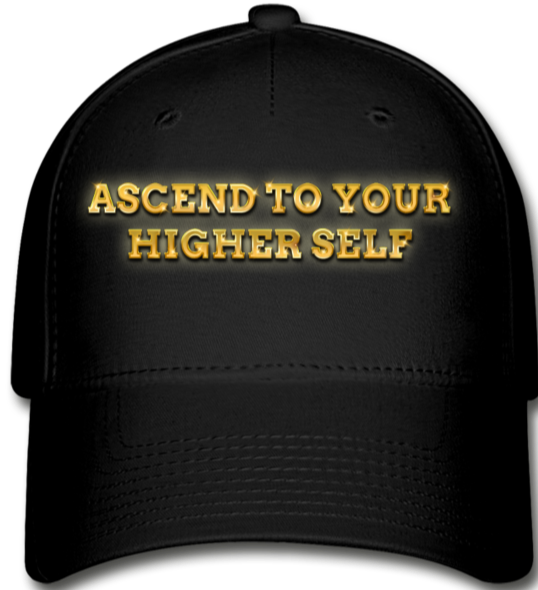 Ascend To Your Higher Self Cap - black