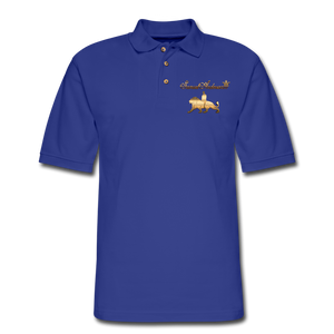 Men's Polo Shirt - royal blue