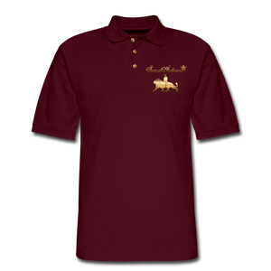 Men's Polo Shirt - burgundy
