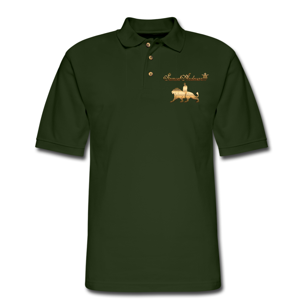 Men's Polo Shirt - forest green