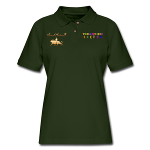 Trillionaire Women's  Polo Shirt - forest green