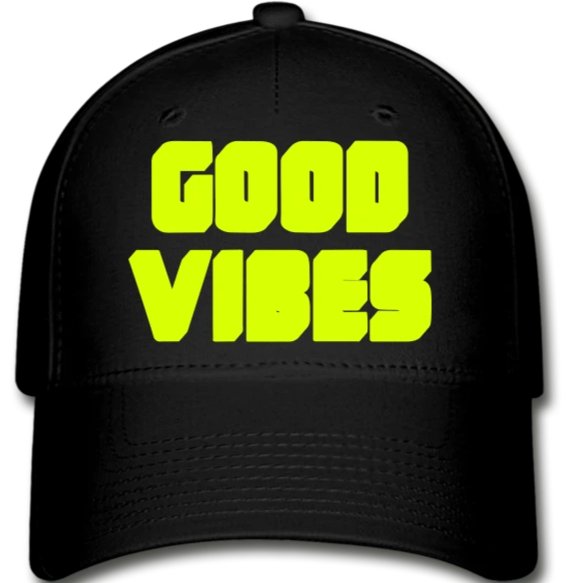 Good Vibes  Cap - black