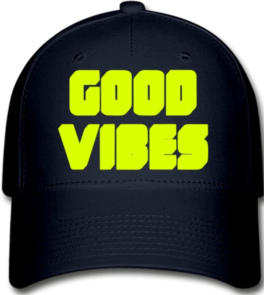 Good Vibes  Cap - navy