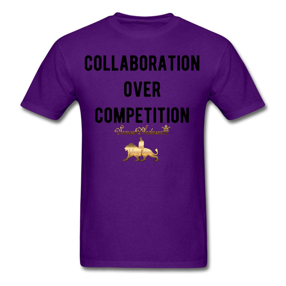 Collaboration Over Competition  Classic T-Shirt - purple