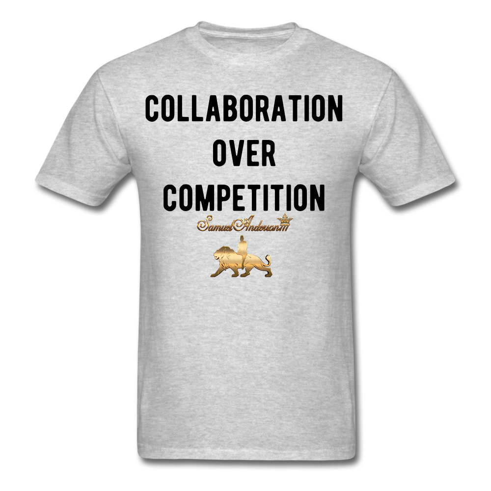 Collaboration Over Competition  Classic T-Shirt - heather gray