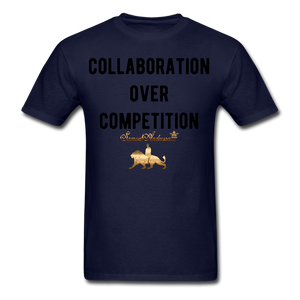 Collaboration Over Competition  Classic T-Shirt - navy