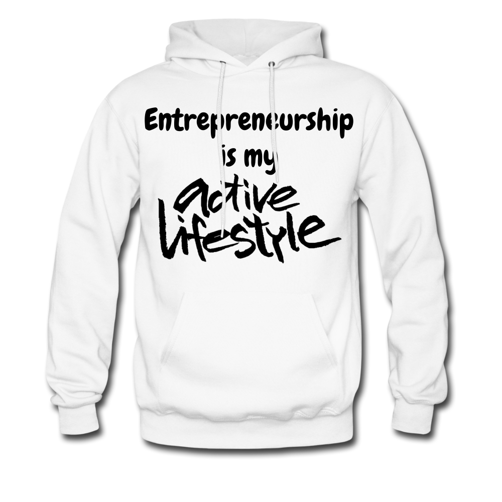 My Active Lifestyle Men's Hoodie - white
