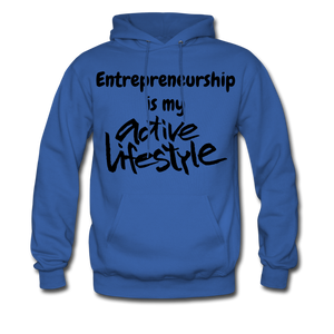 My Active Lifestyle Men's Hoodie - royal blue