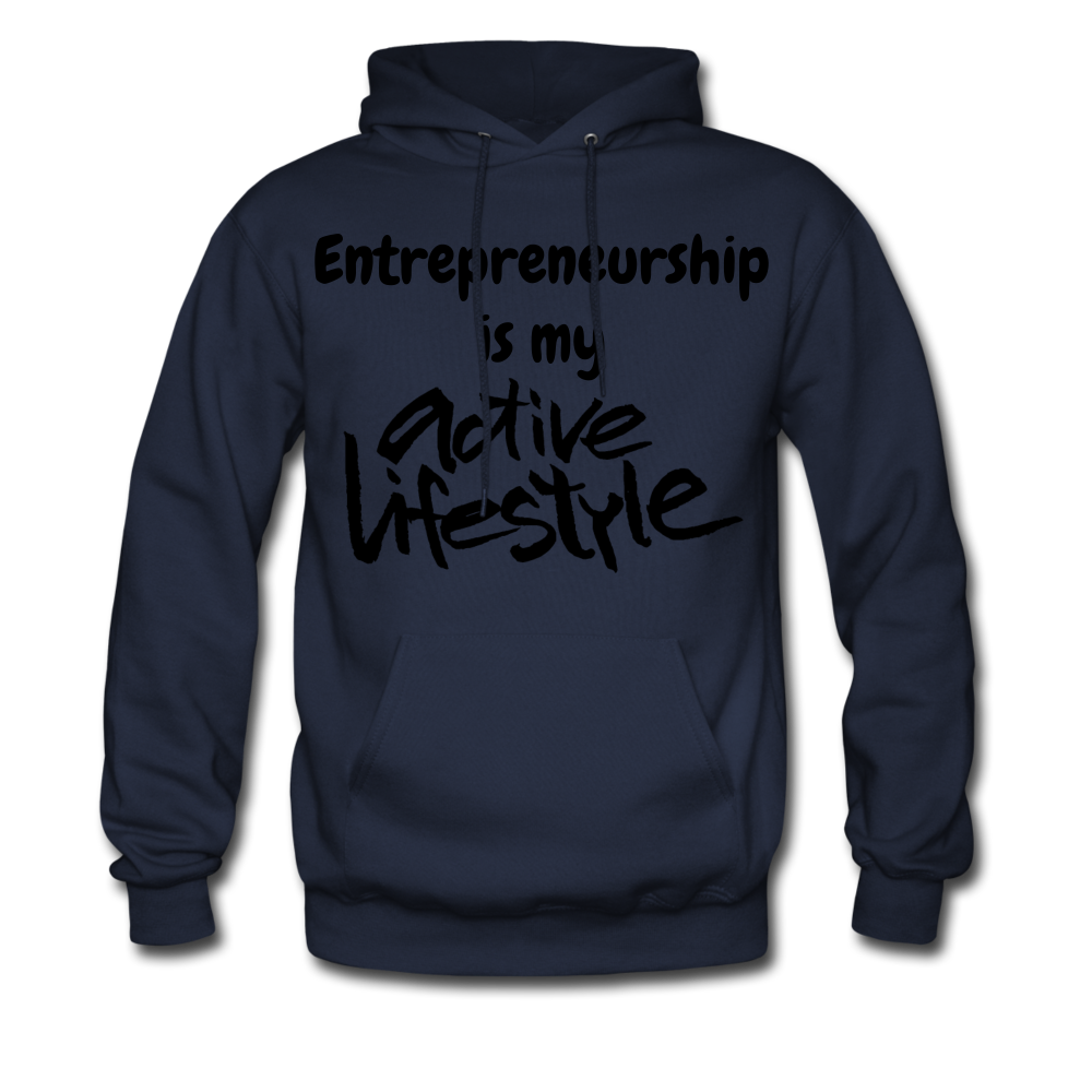 My Active Lifestyle Men's Hoodie - navy