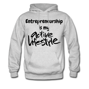 My Active Lifestyle Men's Hoodie - ash
