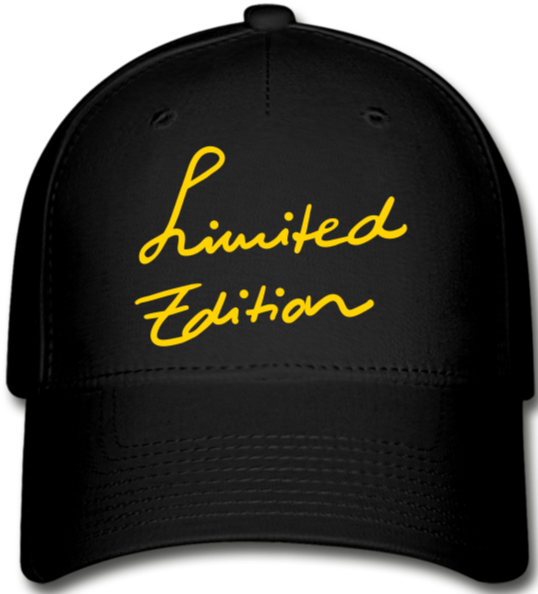 Limited Edition Cap - black