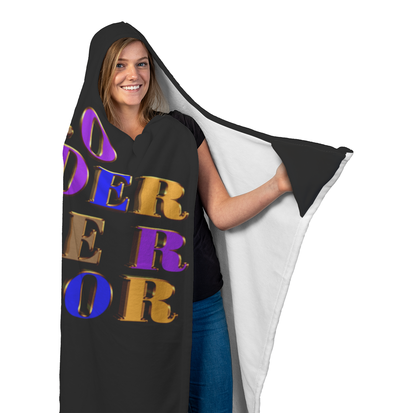 Soft Microfiber Hooded Blanket - Ceo/Founder/Owner/Creator