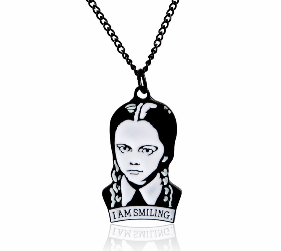 Wednesday Addams  Necklace -  Ashe Raven