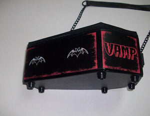 Gothic Vamp  Coffin Purse