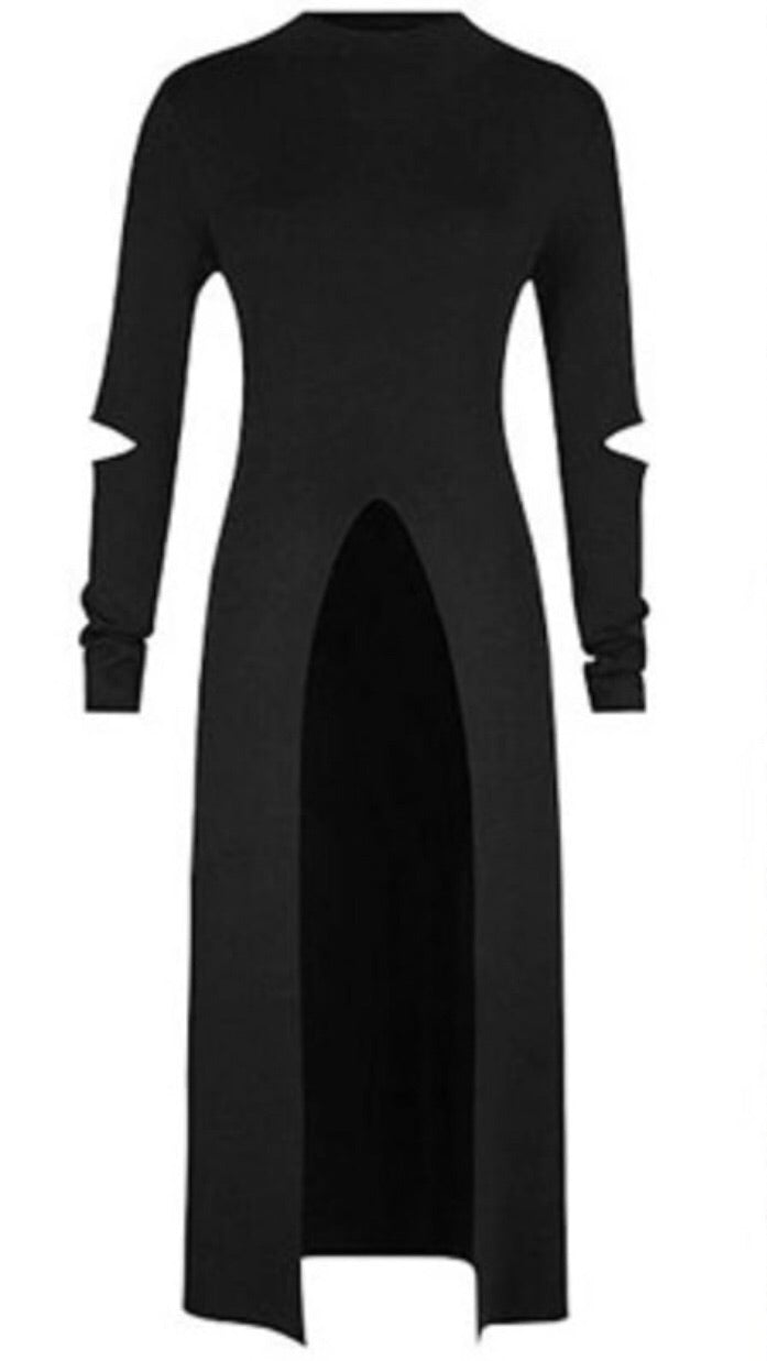 Runway Goth body dress. -  Ashe Raven