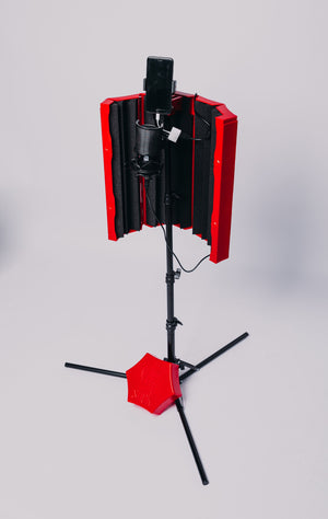 Studio Stick Portable Recording Studio (Red)