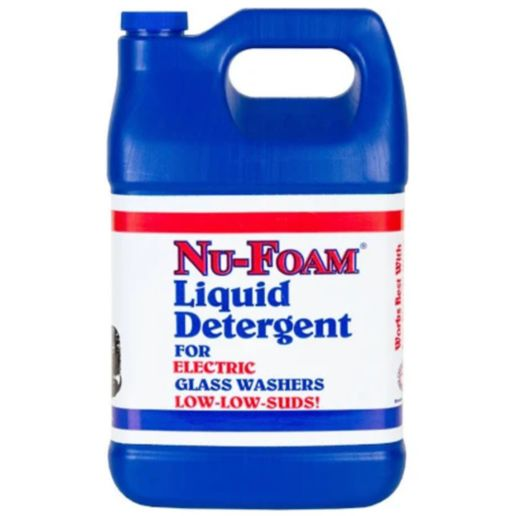 Nu-Foam Bar Glass Cleaner Low Suds Liquid 1 gallon