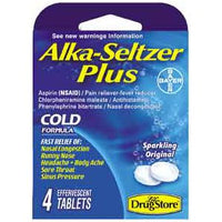 Alka Seltzer Plus Cold 4pk/ 6 count