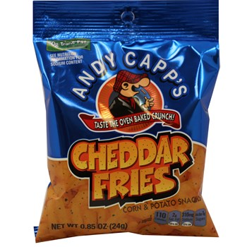 Andy Capp Cheddar Pub Fries .85oz/ 72 count