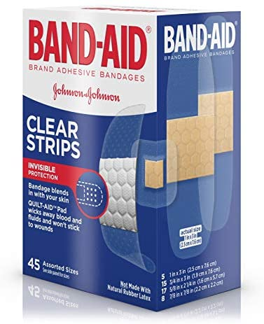 Johnson & Johnson Assorted Band-aids 45 count