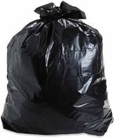 "Trash Can Liner Black 43x47"" 56 Gallon 100 count"