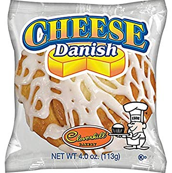 Clover Hill Cheese Danish 4oz/ 6 count