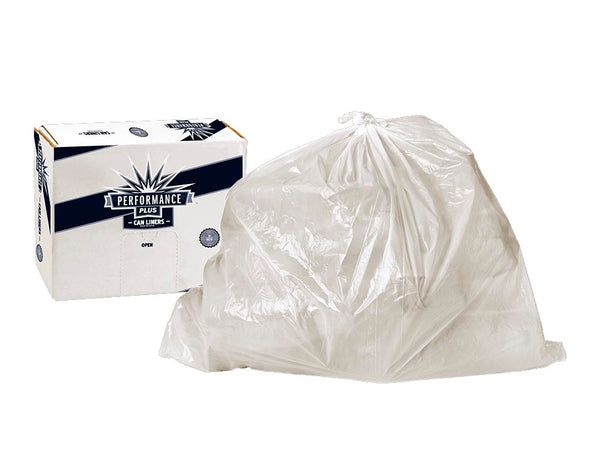 "Trash Can Liner Clear 33x39"" 33 Gallon 250 count"