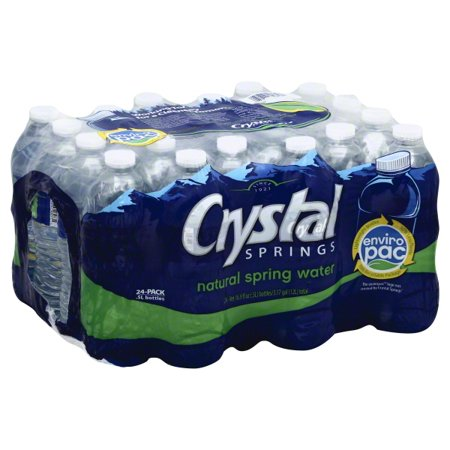 Crystal Springs SPRING water 16.9oz/ 24 count