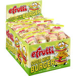 Efrutti Gummi Sour Hamburger .32oz/ 60 count
