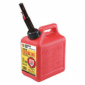 "Gas ""Can"" Plastic 1 Gallon Flame Shield"