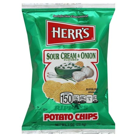 Sour Cream & Onion Chips 1oz/ 84 count