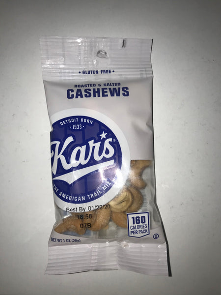 Kar Cashews 1oz/ 100 count