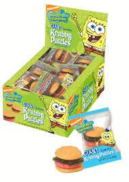 Krabby Patties Gummi .63oz/ 36 count