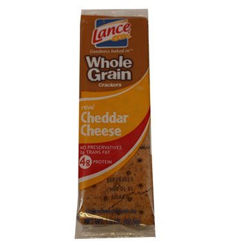 Lance Cheese on Whole Grain Wheat 1.38oz/ 20 count
