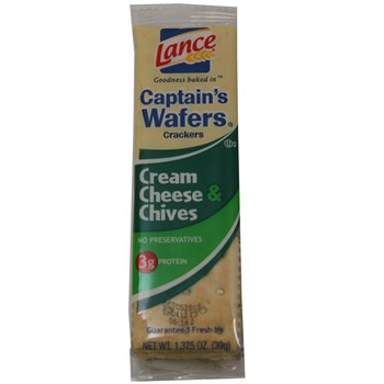 Lance Capt Wafer Cream Cheese & Chives 1.38oz/ 20 count