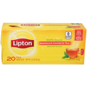 Lipton Tea Bags 20 count