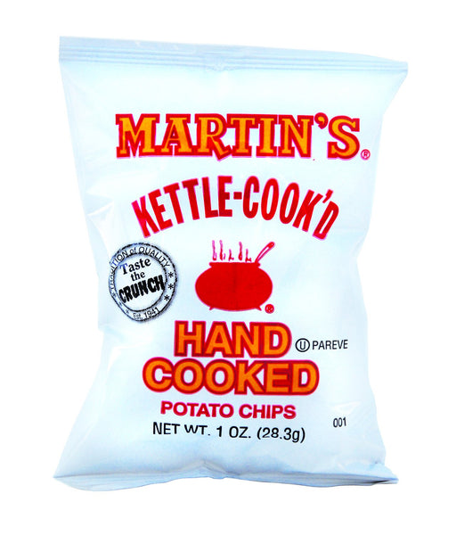 Martin's Kettle Cooked Potato Chips 1oz/ 30 count