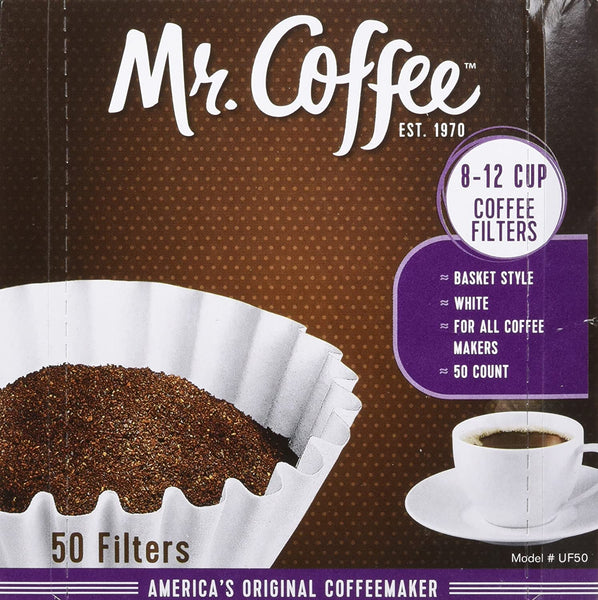 Mr Coffee Filters 8-12 Cup 50 count