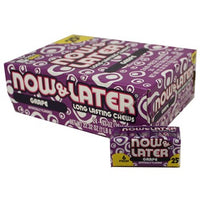 Now & Later Grape PP25¢ .93oz 24 count
