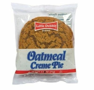 Little Debbie Oatmeal Creme Pie 3.9oz/ 6 count