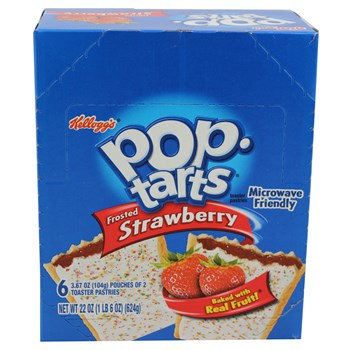 Pop-Tarts Strawberry 3.67oz/ 6 count