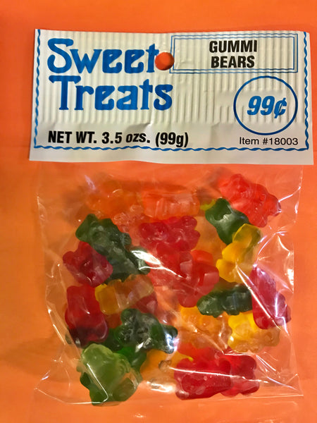 Sweet Treats Gummi Bears 3.5oz/ 12 count