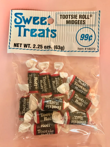 Sweet Treats Tootsi Roll Midgees 2.25oz/ 12 count