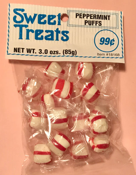 Sweet Treats Peppermint Puffs 3oz/ 12 count