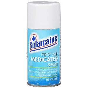 Solarcaine Medicated First Air Spray 4.5oz