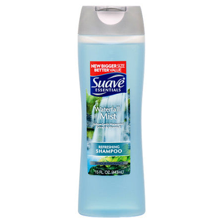 Suave Shampoo Waterfall Mist 15oz