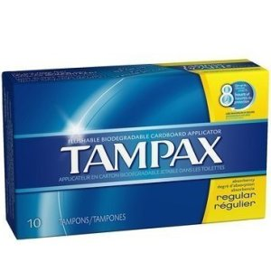 Tampax Regular Tampons 10 count